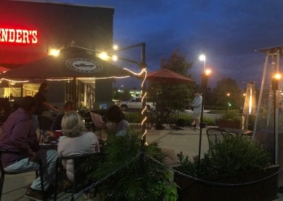 Live music on J. Render's Patio